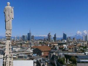 milano itinerari turistici - architettura e monumenti