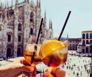Tipico aperitivo a Milano