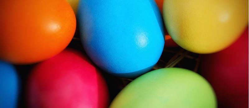uova pasquali da colorare